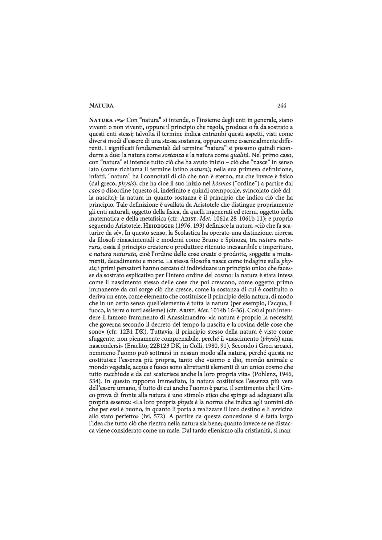 Scarica il PDF della voce «Natura»